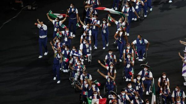 México en la inauguración de los Juegos Paralímpicos