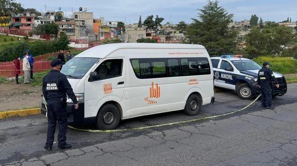 Muere presunto asaltante en atraco a transporte en Edomex