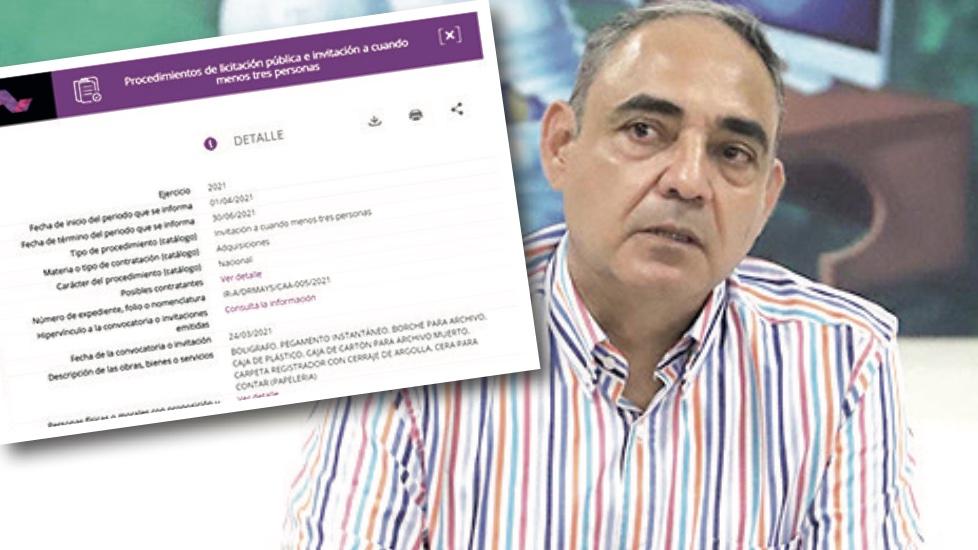 Sospechosa compra de Alberto Esteva en Álvaro Obregón