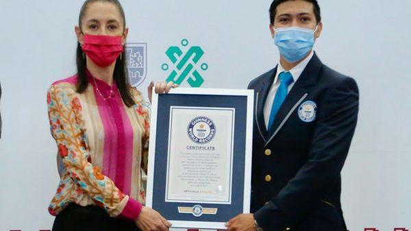 Logra Récord Mundial Guinness Línea 2 del Cablebus