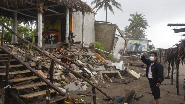 Apoyo a damnificados por huracán Grace, sin límite presupuestal: AMLO
