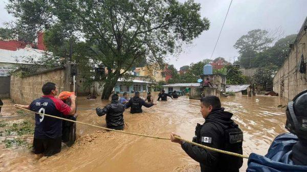 62 municipios afectados por huracán Grace en Veracruz