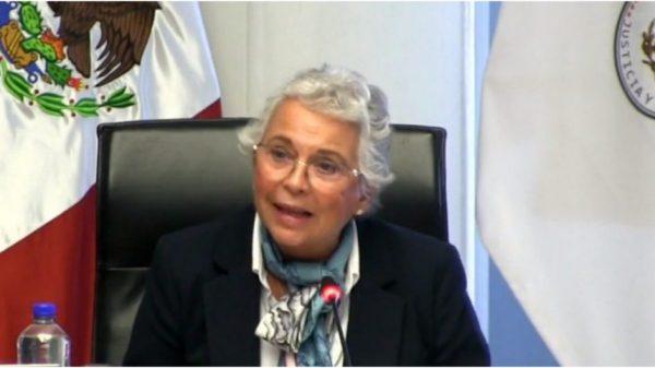 Se perfila Sánchez Cordero para Presidenta del Senado