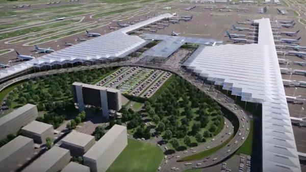 Aeropuerto de Santa Lucía será como un auto de Fórmula 1