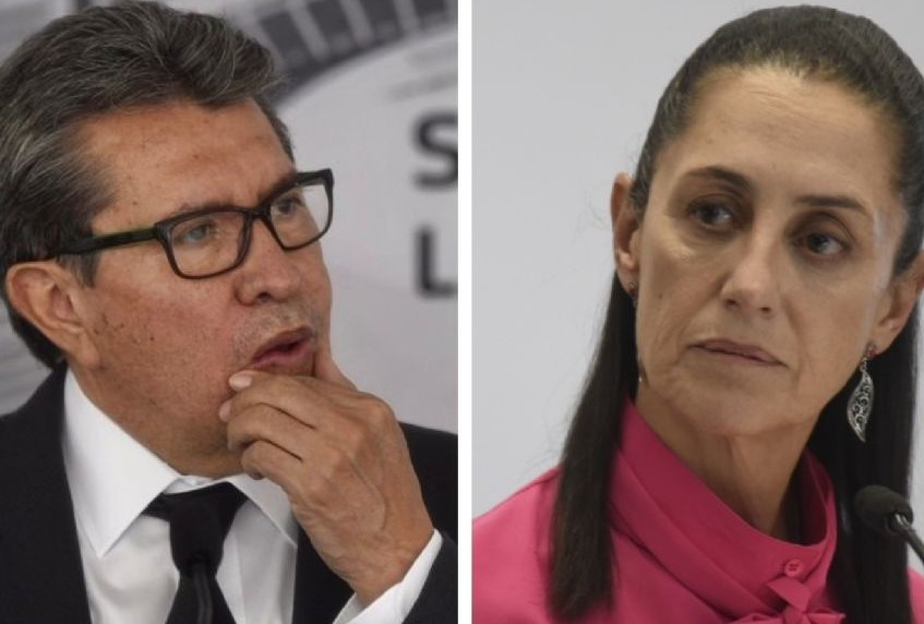 Sheinbaum y Monreal chocan por método para definir candidatura presidencial de Morena