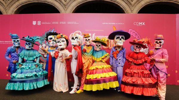 Festival de Muertos, CDMX.